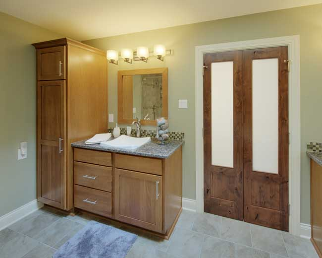 Custom cabinetry custom kitchens custom bathroom for Custom bathroom cabinets